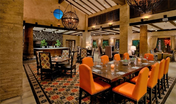 Housed in the historic and classy Royal Palms Resort & Spa, T. Cook's is one of the Top 10 Hotel Restaurants in the US
