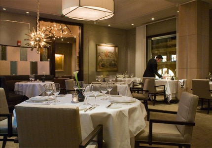 Read a review of L'Espalier in Boston