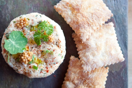 Bluefish paté from Puritan & Company, one of the Top 10 American Restaurants in Boston
