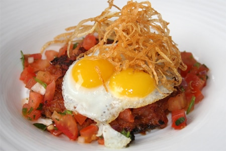 Eggs at Sapphire Laguna, one of the Top 10 Restaurants for Brunch in Orange County (CA)
