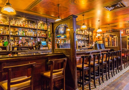 Fádo in Chicago, IL, one of GAYOT's Top 10 Irish Pubs in the U.S.