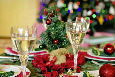 Celebrate Christmas at a special restaurant