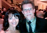 Chef Rick Bayless of Frontera Grill in Chicago with GAYOT's Meryl Pearlstein