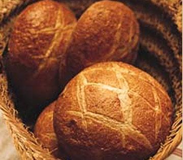 """Italian """"Rounds"""" bread from La Brea Bakery"""