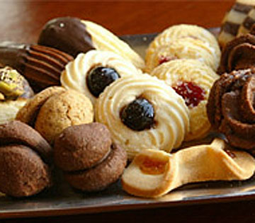 Homemade cookies from Susina Bakery & Café