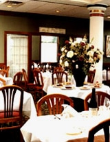 The dining room of Noto's Old World Italian restaurant in Grand Rapids