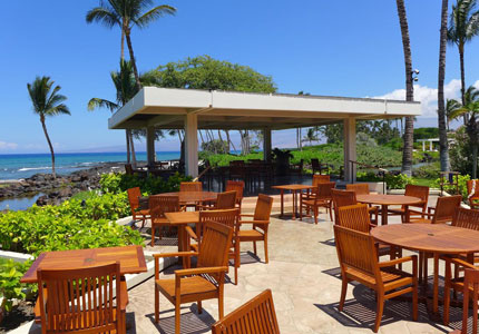 The open-air deck at CanoeHouse makes it one of Hawaii's Best Outdoor Dining Restaurants