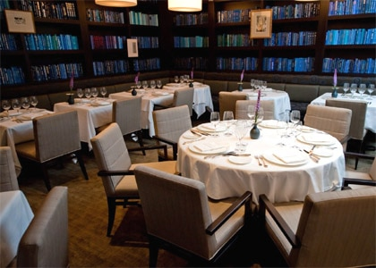 L'Espalier in Boston, one of our Top 10 Hotel Restaurants in the U.S.