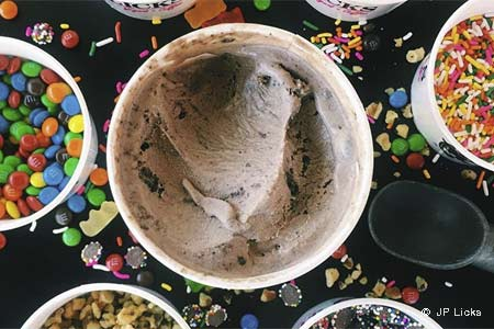 JP Licks, one of GAYOT's Best Ice Cream Shops in the Boston area