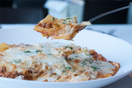 Lasagnette at Atlanta's Sotto Sotto, one of GAYOT's Top 10 Italian Restaurants in the U.S.