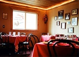 The dining room of Nani's Cucina Italiana in Jackson Hole