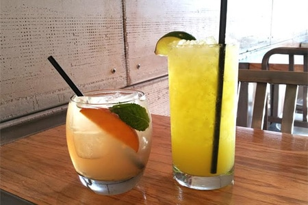 Sample cocktails and chavelas (deliciously refreshing Peruvian-style sangrias) at Chavela Comida y Sangria in Hollywood