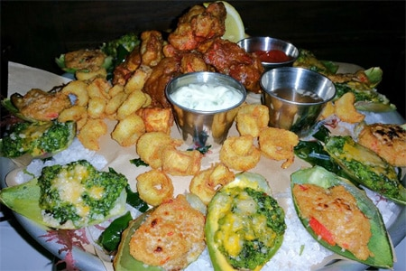 Crossroads is pushing the envelope once again with a new Crossroads Seafood Tower that spotlights the hard-to-find lobster mushroom