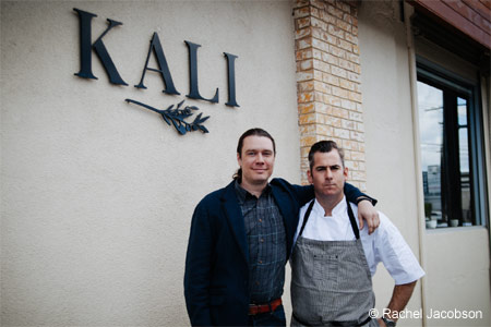 Co-owners Kevin Meehan and Drew Langley parlayed their serious L.A. restaurant experience into Kali in Larchmont