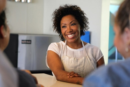 "Former ""Top Chef"" contestant Nyesha Arrington offers progressive California cuisine at Leona"