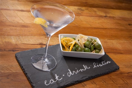 """Spaghettini & the Dave Koz Lounge encourages guests to """"Eat. Drink. Listen."""""""