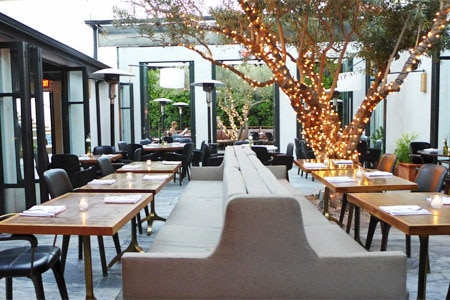 Ysabel in West Hollywood features mid-century décor and contemporary American fare