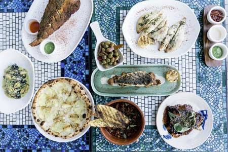 Italian coastal seafood at Cal Mare, one of GAYOT's Best Seafood Restaurants in West Hollywood, Mid-City & Hollywood