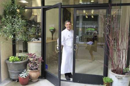 Chef Tony Esnault presents the cuisine of Southern France at Spring in downtown LA