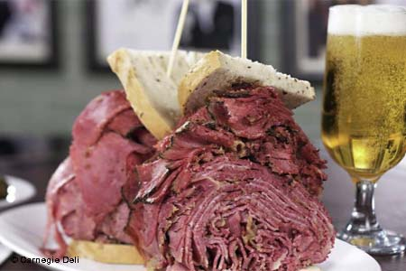Woody Allen Sandwich from Carnegie Deli, one of GAYOT's Best Sandwich Shops in Las Vegas