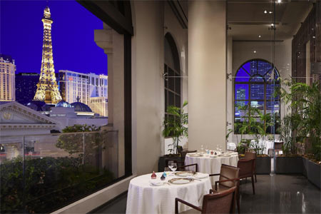 Restaurant Guy Savoy, one of GAYOT's Best French Restaurants in Las Vegas