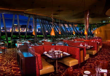 The dining room at Panevino at the Marnell Corporate Center on Las Vegas, Nevada