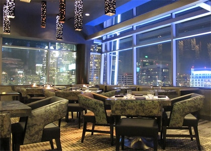 WP24, one of the Top 10 New Year's Eve Restaurants in the U.S.