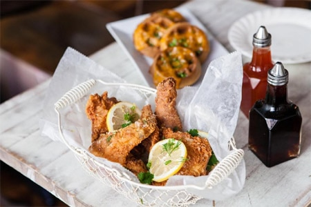 Southern comfort fare hits the mark at this East Village spot