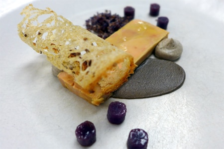 Foie gras at Eleven Madison Park, one of the Top 10 Restaurants with the Best Food in New York