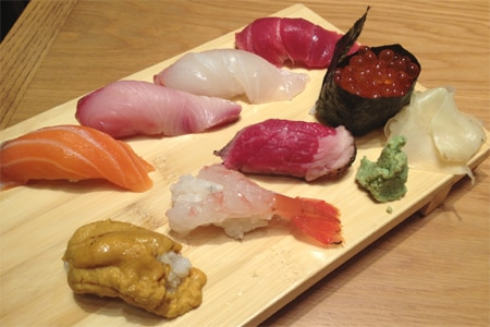 Top 10 Sushi Restaurants