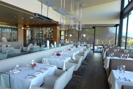 The Edge is a modern steakhouse in a romantic cliffside setting at The Ritz-Carlton, Rancho Mirage