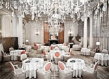 The dining room of Alain Ducasse au Plaza Athenee