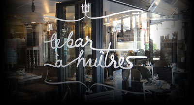 Le Bar à Huitres Montparnasse in Paris