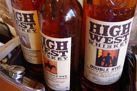 High West Distillery & Saloon is as much a tourist attraction as it is a favorite dining spot among all who frequent Park City