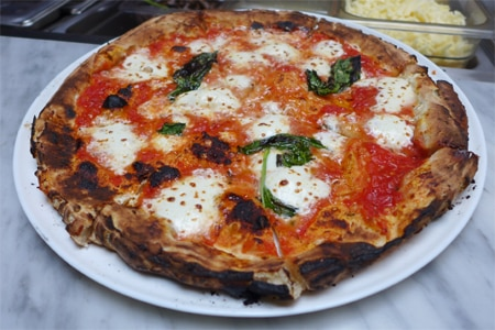 Tavola in New York, New York, turns out authentic Neapolitan pizza