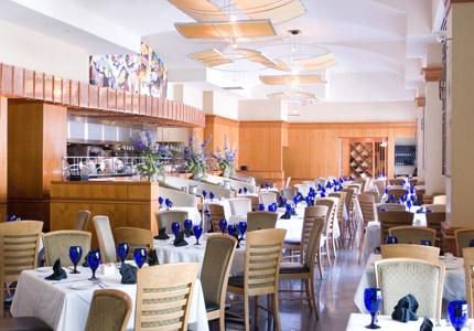 The dining room at Prime restaurant in Atlanta, Georgia