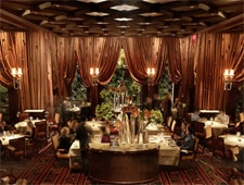 The dining room at Alex in Las Vegas