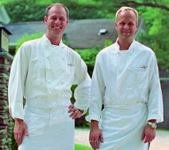 Mark Gaier and Clark Frasier of Arrows Restaurant in Ogunquit