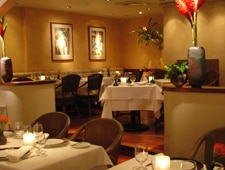 The dining room at Chef Mavro in Hawaii