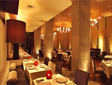 The dining room at CityZen in Studio City