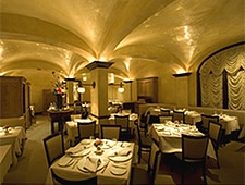The dining room at Cyrus in Healdsburg, California