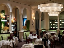 A dining room at Daniel in New York