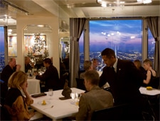 The dining room at Everest in Chicago