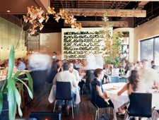 A dining room at Frasca Food & Wine in Boulder
