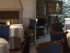 A dining area at The French Laundry