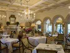The dining room at Georgian Room in Sea Island