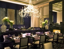 A dining room at Joël Robuchon in Las Vegas