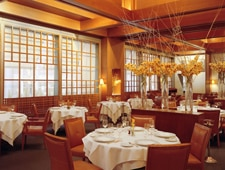 A dining room at Le Bernardin in New York