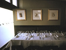A dining area at Restaurant Le Rêve in San Antonio