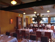 A dining room at Manresa in Los Gatos